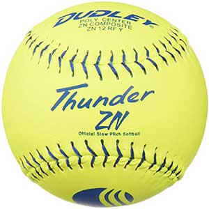 Dudley USSSA Thunder ZN Slowpitch Classic M Stamp Softball