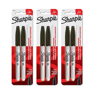 Sharpie 30162PP Fine-Point Permanent Markers
