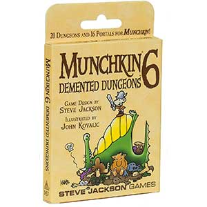 Munchkin 6 - Demented Dungeons Expansion Deck Pack