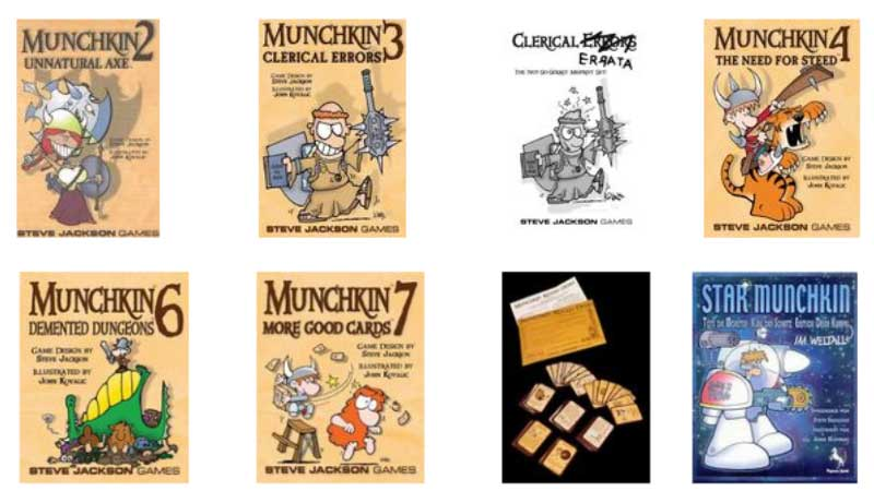 Munchkin Expansions