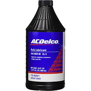 ACDelco Axle and Gear Lubricant