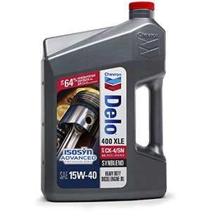 Delo XLE 400 Synthetic Blend Oil, 15W40