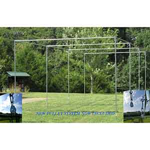 Kapler Practice Net Baseball Batting Cage (19mm High Strength Steel Frame)
