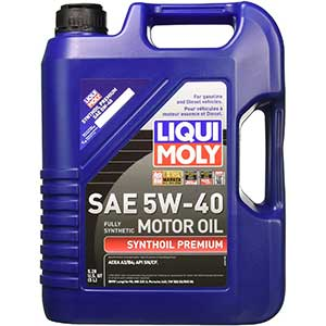 Liqui Moly Synthoil Premium 5W-40 Synthetic Motor Oil