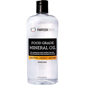Mineral Oil for Cutting Boards, Countertops and Butcher Blocks - Food Safe