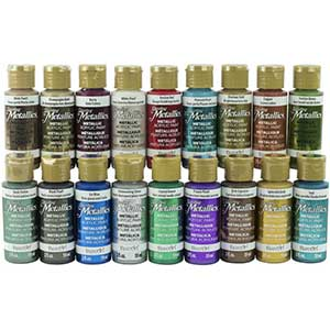 Professional Dazzling Metallics Paints for, Art & Craft