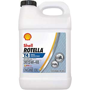 Shell Rotella T4 Triple Protection Conventional Engine Oil