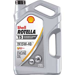 Shell Rotella T5 Engine Oil, SAE 15W-40
