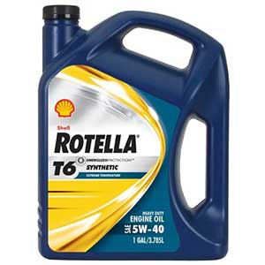 Shell Rotella T6 Full Engine, Heavy Duty Engine Oil
