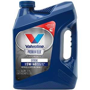 Valvoline Premium 5W-40 Oil, Full Synthetic Engine