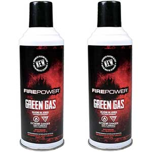 Airsoft Green Gas DUAL PACK by Fire Power