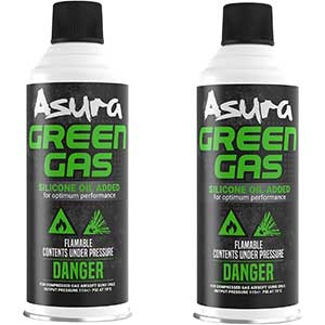 Asura Power Green Gas, Pack of 2