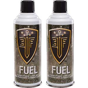 Elite Force Green Gas for Airsoft Guns (Pack of 2)