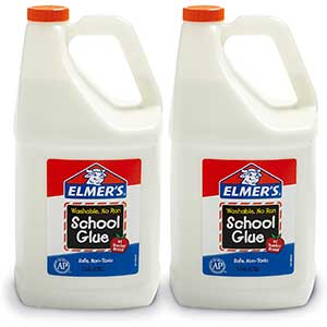 Elmer's Liquid School Glue, Washable, 1 Gallon