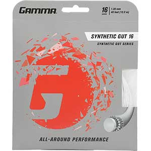 Gamma Synthetic Gut Series Tennis Racket String