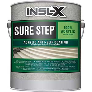 INSL-X Acrylic Anti-Slip Coating Paint, Light Gray