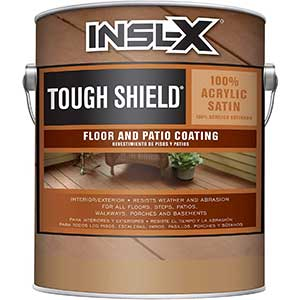 INSL-X Tough Shield Floor and Patio Coating Paint, Gray Pearl