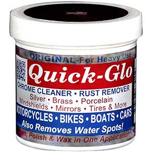 Quick-Glo – Original Chrome Cleaner and Rust Remover
