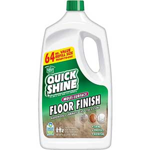 Quick Shine Floor Finish, Multi-Surface, 64oz