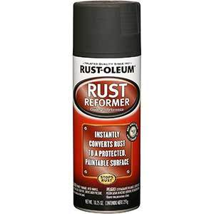 Rust-Oleum Automotive Rust Reformer Spray, Black, Country Of Origin-United States