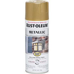 Rust-Oleum - Paint for Rusty Metal, Gold Rush