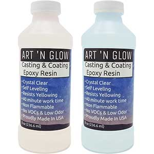 Art 'N Glow Casting Resin- Self Leveling & Degassing | Odor-Free