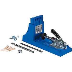 Kreg K4 Woodworking Jigs - Drill bit | 6inch Driver | Screw Set