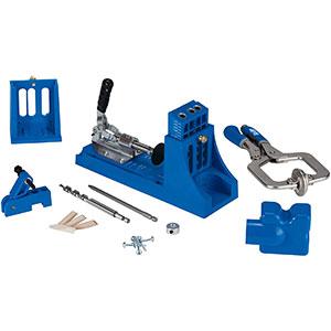 Kreg K4MS Jig- Drill Bit | Plug Set | Face Clamp | Portable Base