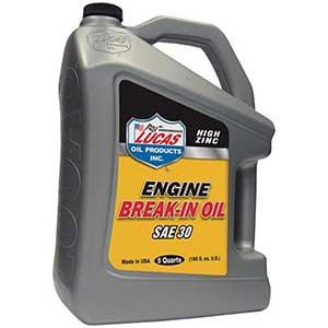 Lucas Racing Oil with Zinc - 5 Quarts