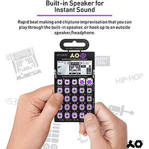 PO-20 Pocket Operator | Arcade Synthesizer (Build-in Speaker)