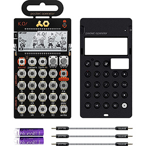 PO-33 Pocket Operator | KO Sampler (Silicone Case & Audio Cables)
