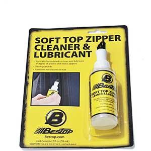 Bestop Zipper Lubricant & Cleaner- Metal & Plastic | Non-toxic
