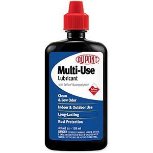 DuPont Teflon Zipper Lubricant | Multi-Use | Squeeze Bottle