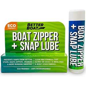 Marine Grade Zipper Lubricant Stick- No Oil Mess | Wet/Dry Suit