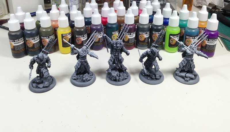 Paints for Warhammer