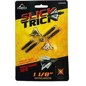 Slick Trick Broadhead for Black Bear | 100 Grain | 4 Blades | 4 pcs