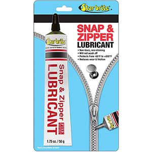 Star Brite Snap & Zipper Lubricant– Non-toxic | Stain Free