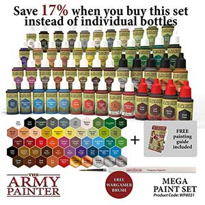 The Army Paints for Warhammer | 100 Mixing Balls | 60 Bottles