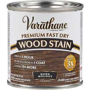 Varathane Premium Stain for Red Oak Floors- Fast Dry | Dark Walnut