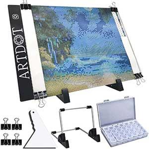 Artdot Light Pad for Diamond Painting | A4 LED | Ultra Slim