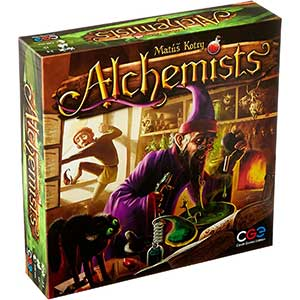 Czech Worker Placement Games: Alchemists