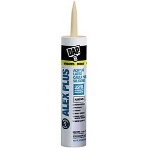 Dap Alex Plus Latex Removable Caulk | Quick-Dry | Paintable | 10oz