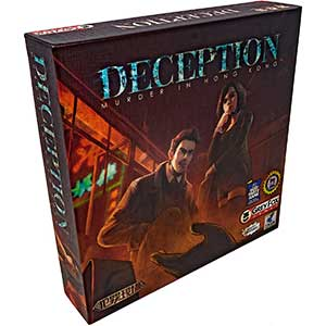 Grey Fox Worker Placement Games: Deception – Murder in Hong Kong