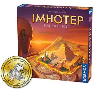 Imhotep Worker Placement Games: Builder of Egypt
