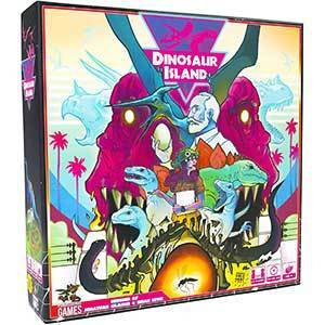 Pandasaurus Worker Placement Games: Dinosaur Island