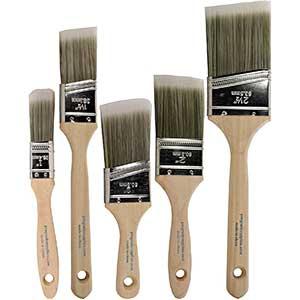 ProGrade Brush for Polyurethane | Wood Handle| Reusable| 5pcs