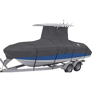 StormPro T Top Boat Cover | Resist UV & Weather | 17-19 Ft.