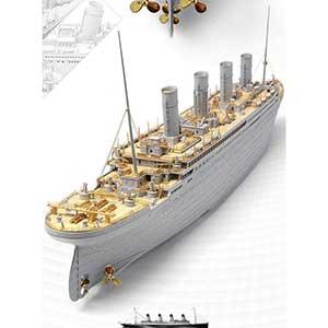 Academy Models Titanic Model Kit | 400 pcs | Lightweight