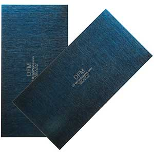 DFM Wood Cabinet Scrapper | Blue Rectangle | 0.81 MM