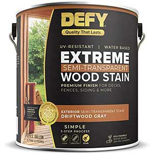 Defy Stain For Exterior Wood Door | UV Resistant | 3.875 Liter